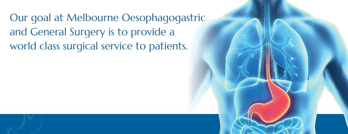 Our goal at Melbourne Oesophagogastric and General Surgery is to provide a world class surgical service to patients.